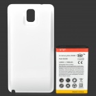 Replacement 7500mAh Extended Battery w/ Back Cover for Samsung Galaxy Note 3 N9000 - White