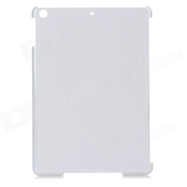 Protective Plastic Back Case for Ipad AIR - White