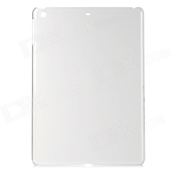 Ultra-thin Protective Plastic Back Case for Ipad AIR - Translucent White