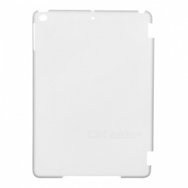 Protective Plastic Back Case for Ipad AIR - Translucent Black