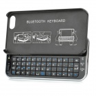 Ultrathin Slide-out Bluetooth V3.0 Keyboard for Iphone 5 / 5S - Black