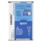 NOHON Replacement 3200mAh Battery for Samsung Galaxy Note 3 N9000 - White + Blue