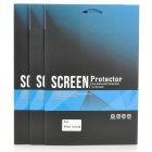 Protective Clear Screen Protector Film Guard for Retina Ipad MINI - Transparent (3 PCS)