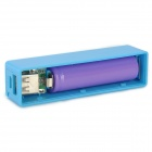 "Portable ""1800mAh"" Replaceable Battery External Power Charger - Blue"