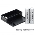 Antorcha Luz Universal 5V Conveniente USB Power Bank adaptador w / - Negro (2 x 18.650)