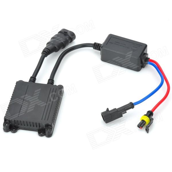 D&Z Q2-AC Aluminum Alloy Replacement 35W HID Ballast - Black (8~16V) ecar e4035 can bus universal replacement 35w hid ballast dc 9 16v