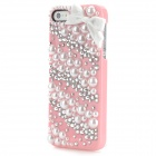 Princess Style Shiny Crystal Back Case for Iphone 5 - Pink