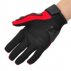 PRO-BIKER HJ-36 Outdoor Sports Full-Finger Motorcycle Racing Gloves - Red + Black (Pair / Size M)