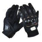 PRO-BIKER HJ-38 Outdoor Sports Full-Finger Motorcycle Racing Gloves - Black (Pair / Size XXL)