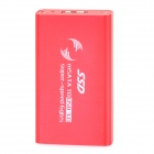 Aluminum Alloy mSATA SSD to USB 3.0 HDD External Case - Red