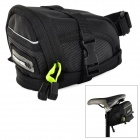 ROSWHEEL 13691 Bicycle Cycling Saddle Bag - Black
