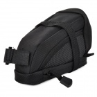 ROSWHEEL 13691-AS Bicycle Cycling Saddle Bag - Black
