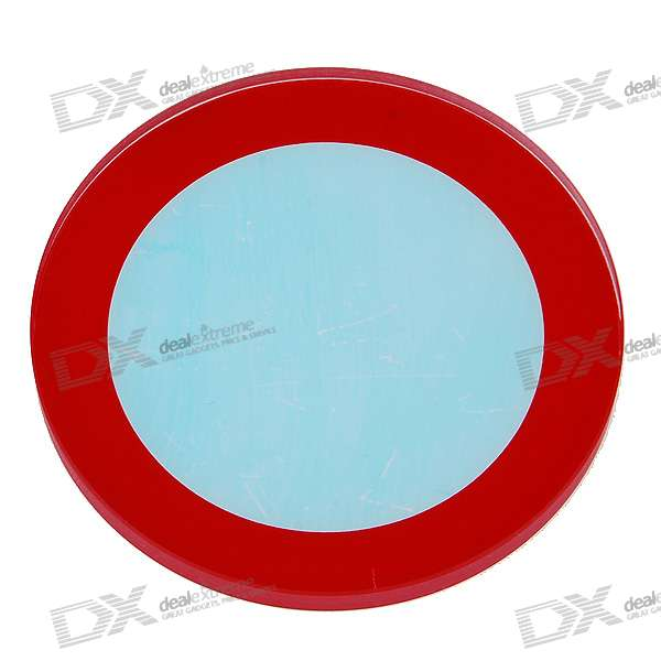 42mm Replacement Light Blue Glass Lens for Flashlights