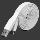 USB Male to Micro 9-Pin Male Data Charging Cable - White (98cm)
