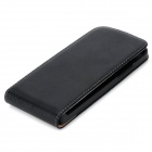 Protective Sheepskin Top-Down Case for HTC One Mini M4 - Black