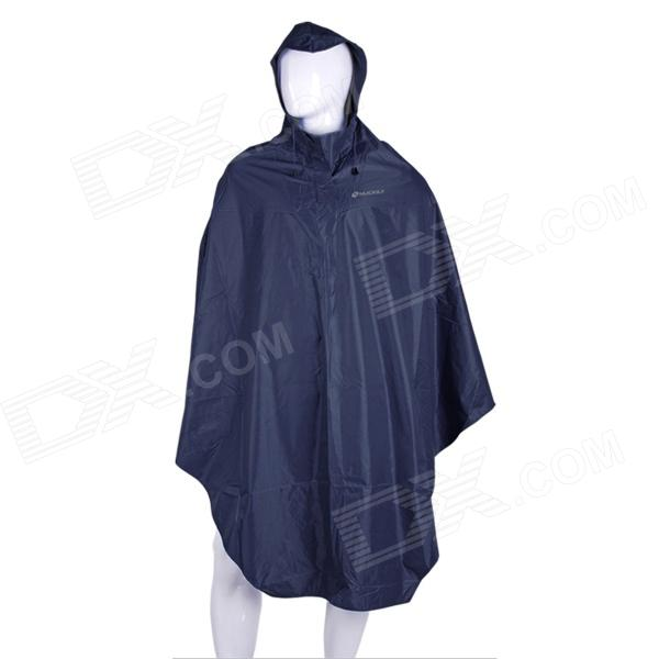 NUCKILY Thicken Complex Fiber Raincoat for Women - Deep Blue