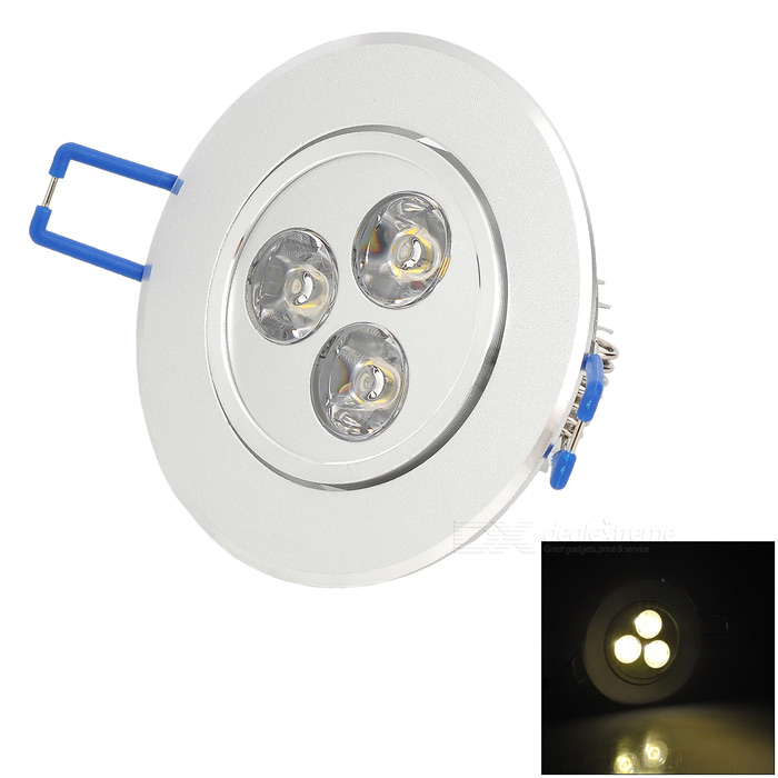 HESION HS02003 3W 270lm 3500K Warm Light / Luz de techo LED blanco (85 ~ 265V)
