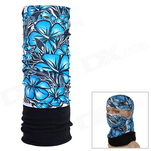 NUCKILY EEA24 Multifunction Outdoor Sports Seamless Head Scarf - Blue + Black