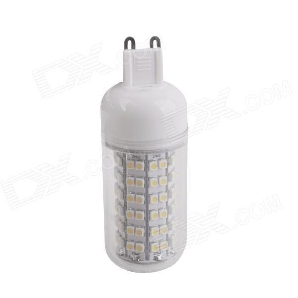 YMD-6 G9 6W 540lm 3000K 108 x SMD 3528 LED Warm White Corn Light - Transparent + White (220~240V)