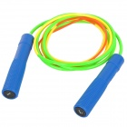 Longhua LH-601B Exercise Skipping Jumping Rope - Blue + Yellow + Green (300cm-Rope)