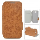 Protective PU Leather Flip-open Case w/ Card Slot for Samsung Galaxy S3 i9300