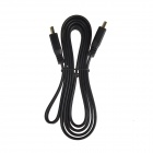 NF-026 1080p HDMI V1.4 Male to Male Flat Connection Cable - Black (152cm)
