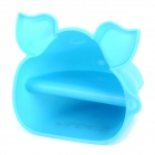 ALOCS AC-C01 Cute Cow Head Style Silicone Oven Glove - Blue