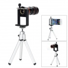 ZnDiy-BRY Universal 16' 8X Optical Zoom Telephoto Lens for Cellphone - Black + Silver