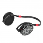 TX-Q9 Stylish Sports Rechargeable MP3 Player Headphones w/ TF / FM - Black
