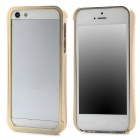 Protective Aluminum Alloy Bumper Frame for Iphone 5 - Golden