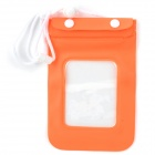 Universal PVC Waterproof Protective Bag for Cellphone / MP3 / MP4 - Orange