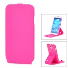 Protective TPU + Silicone Case for Samsung Galaxy S4 i9500 - Deep Pink