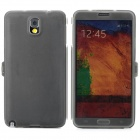 Protective Flip Open Slicone Case for Samsung Galaxy Note 3 N9006 - Deep Grey