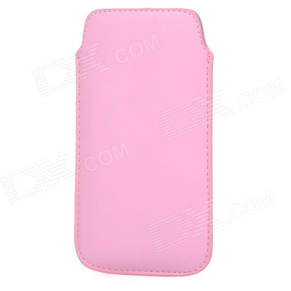 Protective PU Leather Pouch Bag for Samsung i9295 - Pink
