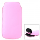 Protective PU Leather Case for Samsung i9190 / S4 Mini - Pink
