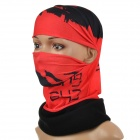 NUCKILY EEA28 Multifunction Outdoor Sports Seamless Head Scarf - Red + Black