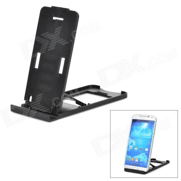 Universal Foldable Holder for Cellhone / Tablet PC - Black