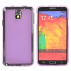 Protective TPU Case for Samsung Galaxy Note 3 - Translucent Purple