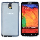 Protective TPU Back Case + Waterproof Bag for Samsung Note 3 - White