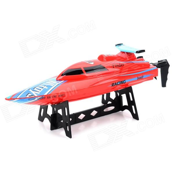 WLtoys WL911 Rechargeable 2-Channel R/C Boat w/ Remote Controller - Red + Blue wltoys wl r4 2 9 lcd 6 axis multi function remote controller for r c toy black 4 x aa