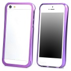 Protective Aluminum Alloy Bumper Frame for Iphone 5 - Purple