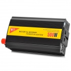 XIANG ZHI Y-DA500W 12V to AC 220V / USB 5V Car Power Inverter - Black