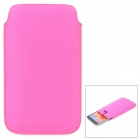 Protective PU Leather Bag for Samsung Galaxy Note 3 N9000 - Deep Pink