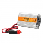 XIANG ZHI Y-DA200W 12V to AC 220V / USB 5V Car Power Inverter - Silver