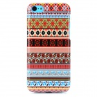 Painting Pattern Protective TPU Back Case for Iphone 5C - Multicolored