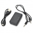 Wireless 2.4GHz Bluetooth Receptor 2.0 estéreo w Jack / 3.5mm - Negro