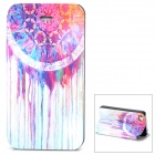 Tribal Ethnic Style Protective Flip Open Case w/ Stand for Iphone 4 / 4S - Multicolored