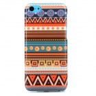 Tribe Pattern Protective TPU Back Case for Iphone 5C - Multicolored