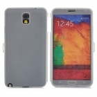 Protective Silicone Full Body Case for Samsung Galaxy Note 3 N9006 - Translucent White