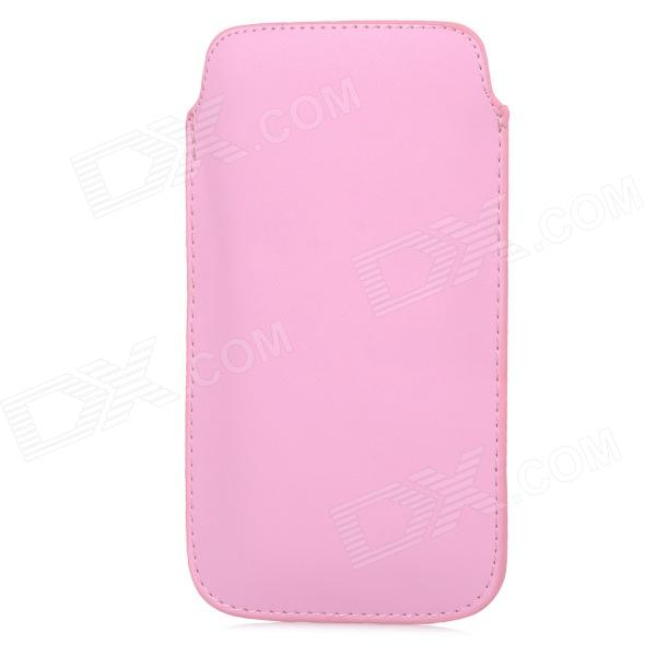 Protective PU Leather Pouch Bag for Samsung Galaxy Note 3 N9000 - Pink protective leather top flip pouch bag for samsung galaxy note 3 n9000 black